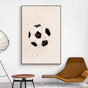 poster ballon de foot