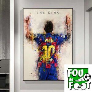poster messi barcelone