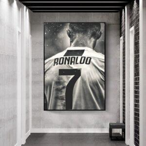 poster ronaldo juventus