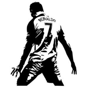 sticker ronaldo