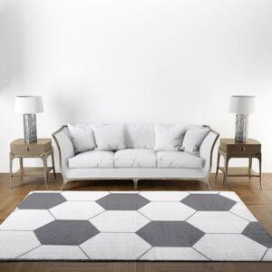tapis motif foot