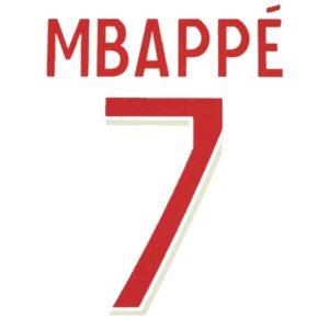flocage mbappé