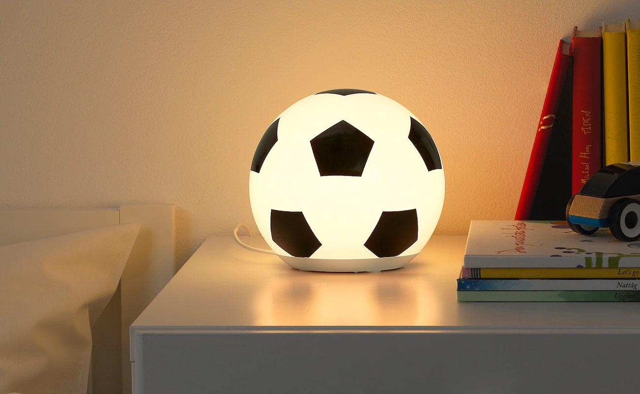 lampe de chevet foot