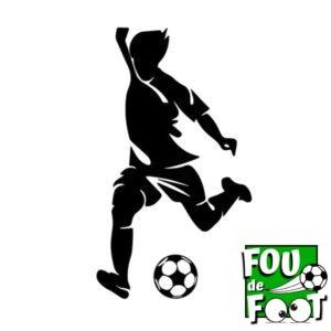 stickers silhouette football