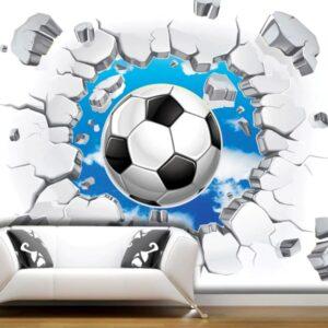 papier peint soccer